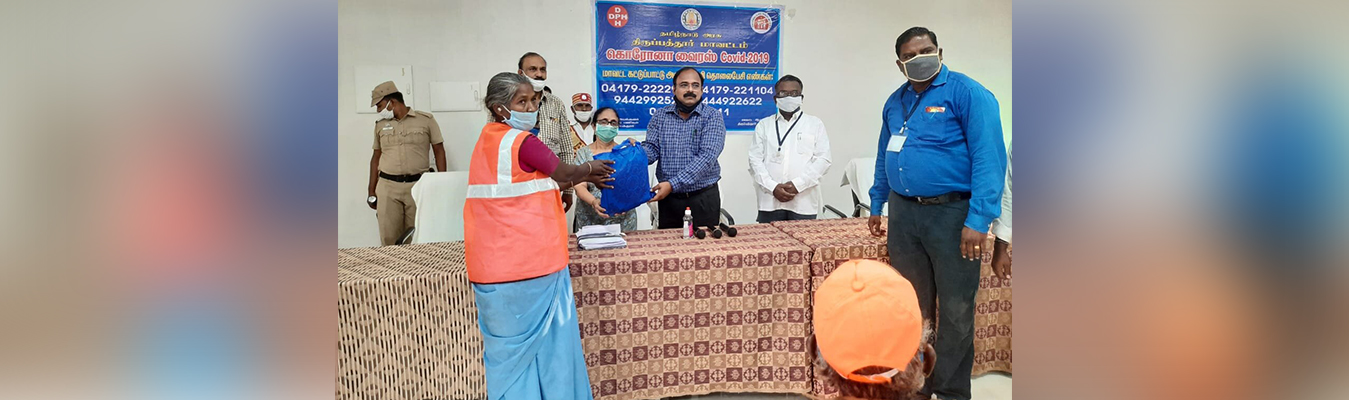 PPE Kit distribution