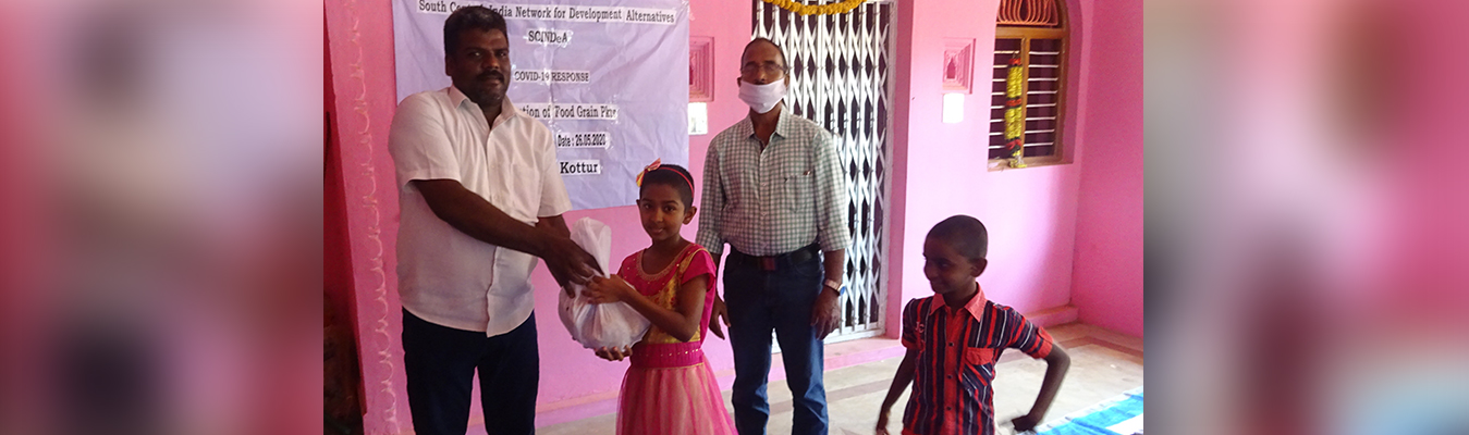 Nutrition kits distribution for tribal children